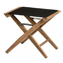 Directors stool black canvas