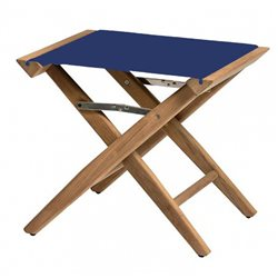 Directors stool Blue canvas