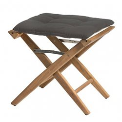 Directors stool Anthracite deluxe