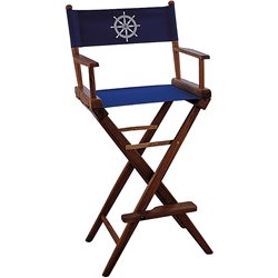 Helmsman seat Navy canvas