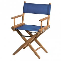 Directors chair Blue canvas