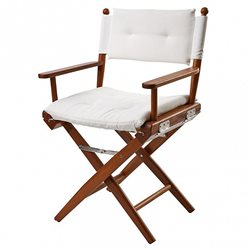 Directors chair White Deluxe