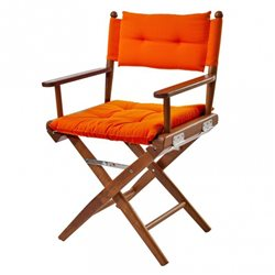 Directors chair Orange Deluxe