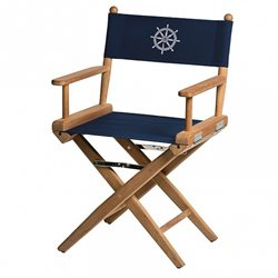 Directors chair Navy canvas+