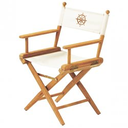 Directors chair white canvas+