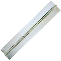 Stainless steel flush hinge tape without holes