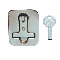 Loaded handle AISI 316 stainless steel