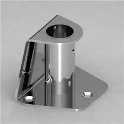 Base for stanchions Ø25