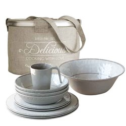 Tableware pack 4 people BALI