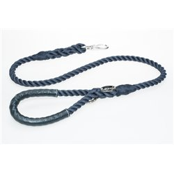 Knotted rope dog leash