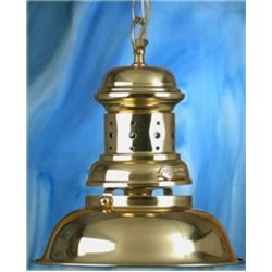 Brass Hanging Lamp