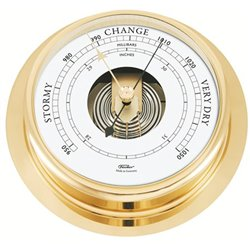 Polished brass barometer NAVIGATOR Ø200