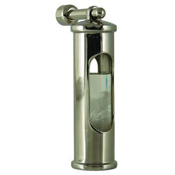 """STORMGLASS"" end suspension polished stainless steel"