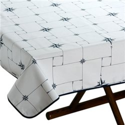 tablecloth 155x130 with anti-stain treatment